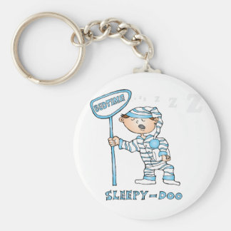 Bed Time Keychain