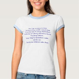 Bed time prayer t-shirt