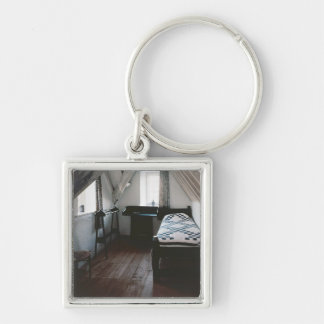 Bed, towel rail designed by Ford Madox Brown Keychain