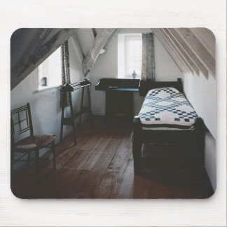 Bed, towel rail designed by Ford Madox Brown Mouse Pad
