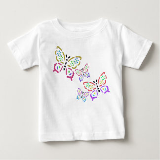 Bedazzled Butterflies Baby T-Shirt