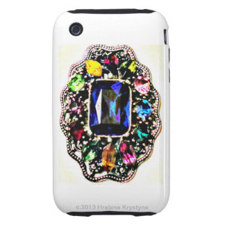 BEDAZZLED TOUGH iPhone 3 COVERS
