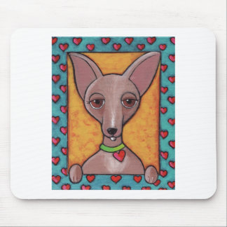 Bedazzled Chihuahua Mouse Pad