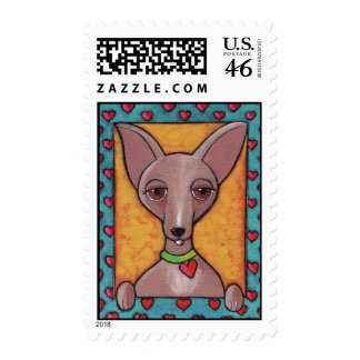 Bedazzled Chihuahua Stamps