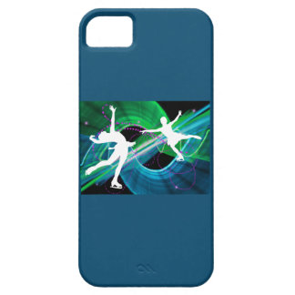 Bedazzled Figure Skaters Ice Skating iPhone SE/5/5s Case