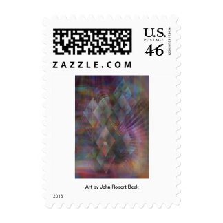 Bedazzled Postage Stamps
