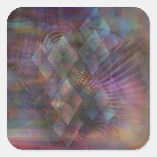 Bedazzled Square Sticker