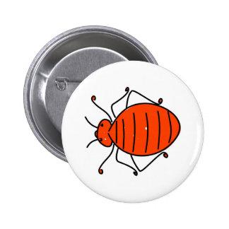 bedbug pinback button