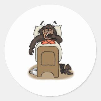 Bedbug Round Stickers