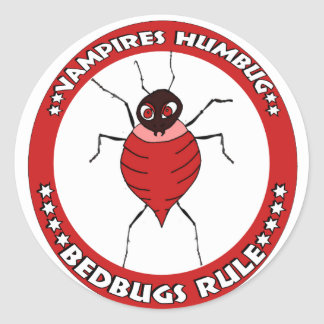 Bedbugs Rules Sticker