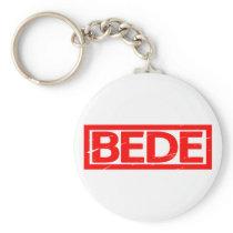 Bede Stamp Keychain