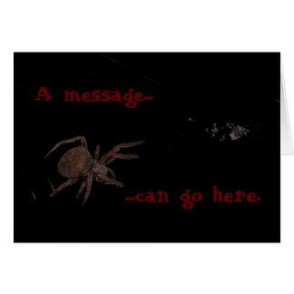 Bedelia The Spider Left Card