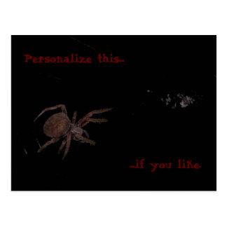 Bedelia The Spider Left Postcard
