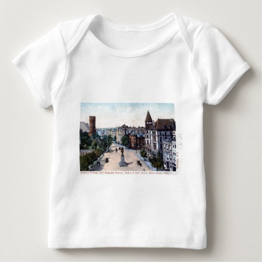Bedford Ave., Brooklyn, NY 1906 Vintage Baby T-Shirt