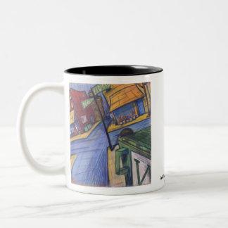 Bedford Ave Two-Tone Coffee Mug