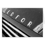 Bedford B&W Card
