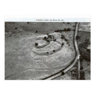 Bedford castle mound postcard