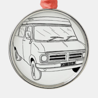 Bedford CF1 Metal Ornament