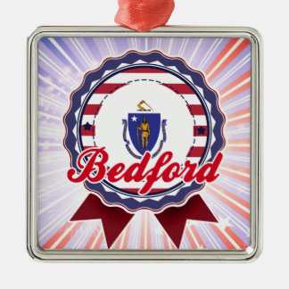 Bedford, MA Christmas Ornaments