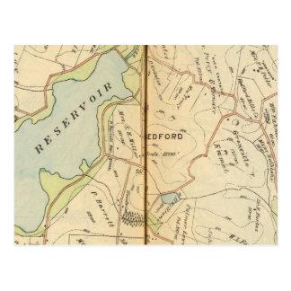 Bedford, New York 2 Postcards