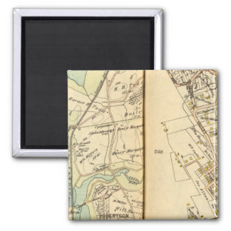 Bedford, New York 6 2 Inch Square Magnet