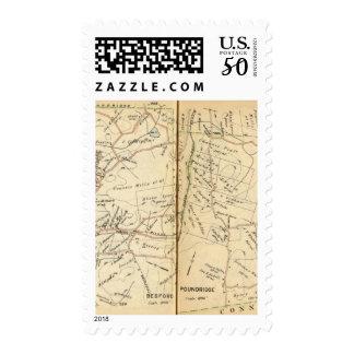 Bedford, New York Postage
