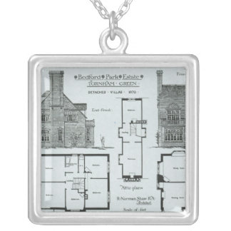 Bedford Park Estate Silver Plated Necklace