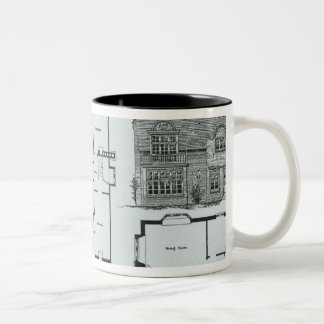 Bedford Park Estate Two-Tone Coffee Mug