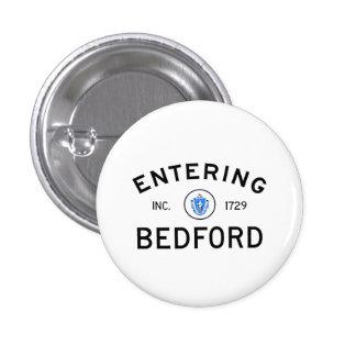 Bedford que entra pin redondo 2,5 cm