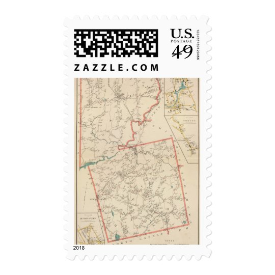 Bedford, Somers towns Postage Stamp