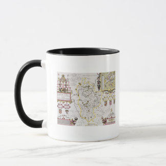 Bedfordshire and the situation of Bedford Mug