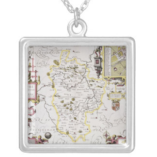 Bedfordshire and the situation of Bedford Silver Plated Necklace