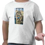 Bedhead funerario bajo la forma de león camiseta