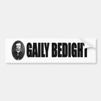 Bedight alegre pegatina para auto