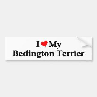 Bedington Terrier Bumper Sticker