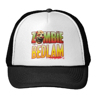 Bedlam Zombie Head Mesh Hats