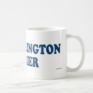 Bedlington Terrier Blue Coffee Mug
