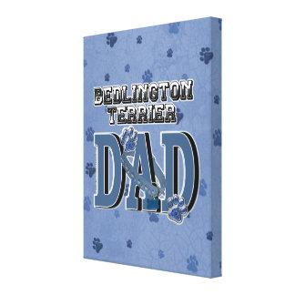 Bedlington Terrier DAD Canvas Print