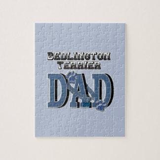 Bedlington Terrier DAD Jigsaw Puzzle