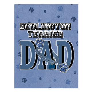 Bedlington Terrier DAD Postcard
