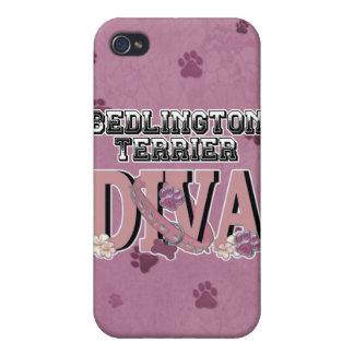 Bedlington Terrier DIVA iPhone 4/4S Covers