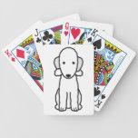 Bedlington Terrier Dog Cartoon Playing Cards