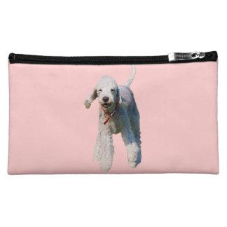 Bedlington Terrier dog cute beautiful photo Cosmetic Bag