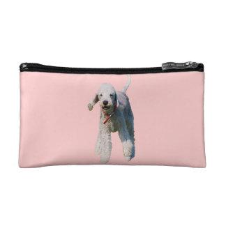 Bedlington Terrier dog cute beautiful photo Makeup Bags