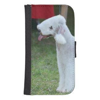 Bedlington Terrier Funda Tipo Cartera Para Galaxy S4