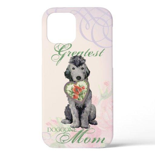 Bedlington Terrier Heart Mom Case-Mate iPhone Case