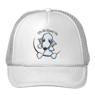 Bedlington Terrier IAAM Trucker Hat