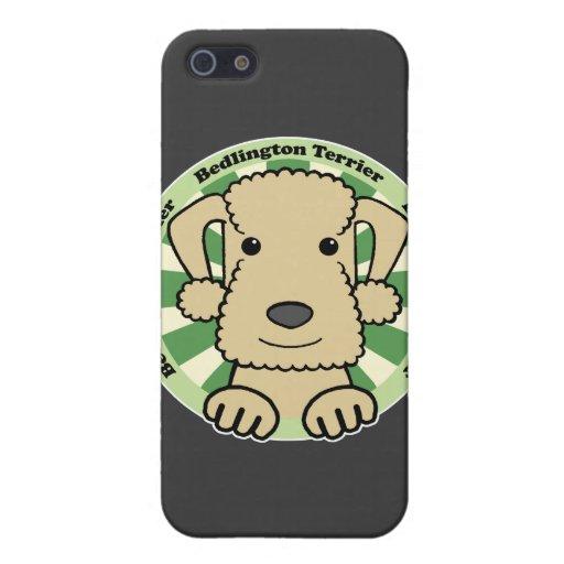 Bedlington Terrier iPhone 5 Funda