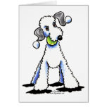 Bedlington Terrier Let's Play Greeting Cards