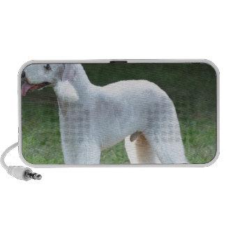 Bedlington Terrier lindo Notebook Altavoces